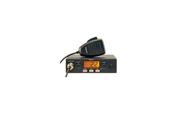 LAFAYETTE APOLLO BLACK. Emisora CB 27 Mhz. Color NEGRO. 40 AM / 40 FM